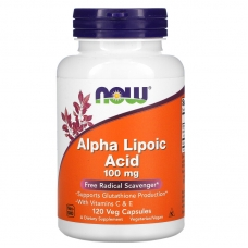 Alpha Lipoic Acid, Альфа-Липоевая Кислота 100 мг - 120 капсул