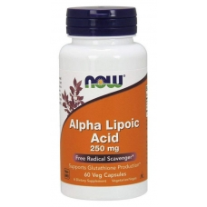 Alpha Lipoic Acid, Альфа-Липоевая Кислота 250 мг - 60 капсул