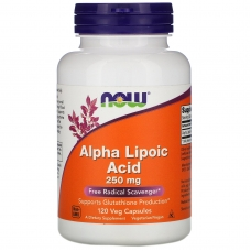 Alpha Lipoic Acid, Альфа-Липоевая Кислота 250 мг - 120 капсул