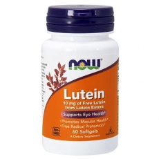 Lutein, Лютеин 10 мг - 60 капсул
