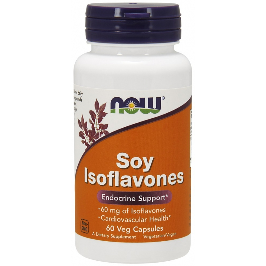 Soy Isoflavones, Изофлавоны Сои 150 мг - 60 капсул