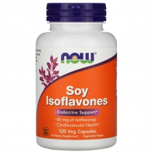 Soy Isoflavones, Изофлавоны Сои 150 мг - 120 капсул