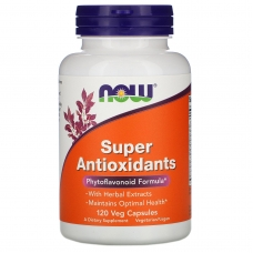 Antioxidants Super, Антиоксиданты Комплекс - 120 капсул