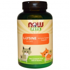Pet L-Lysine for Cats, L-Лизин Для Кошек - 226 г