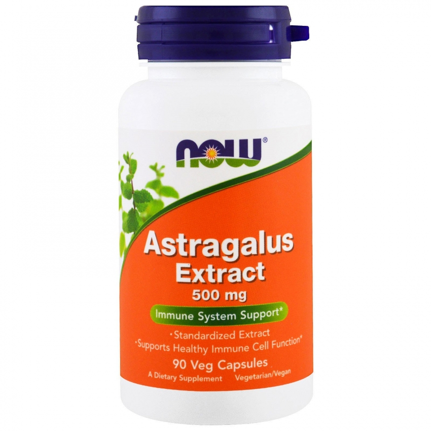Astragalus Extract, Экстракт Астрагала 500 мг - 90 капсул