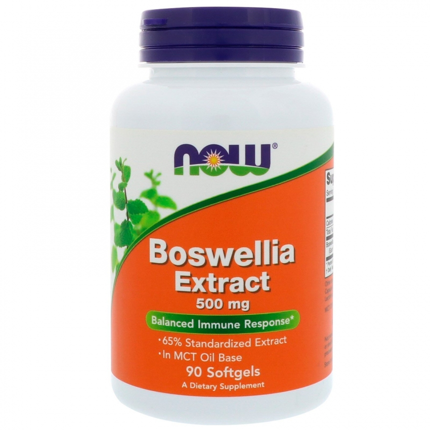 Boswellia Extract, Босвеллия Экстракт 500 мг - 90 капсул